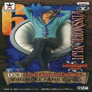 반프레스토 원피스 DXF THE GRANDLINE MEN VINSMOKE FAMILY vol4 니지